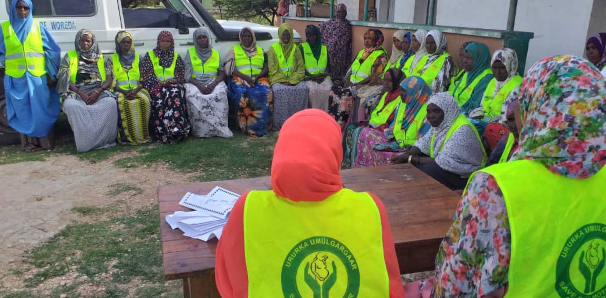Members of Umulgargar, a Community Based Association (CBA) in Awbare Woreda, Somali Region
