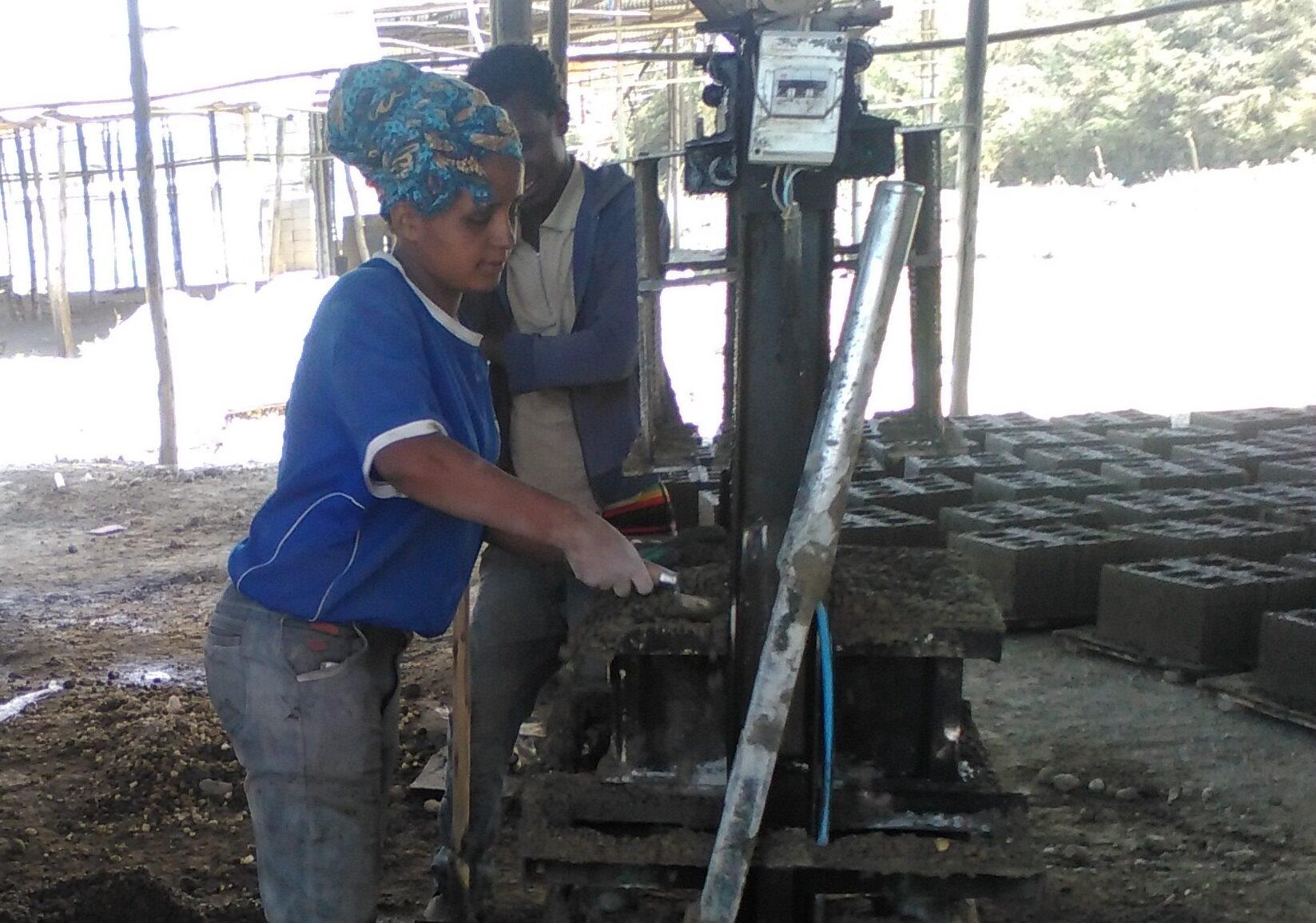 Haimanot Yirsaw, 22, lives in Debrebirhan of North Shoa in the Amhara Regional State