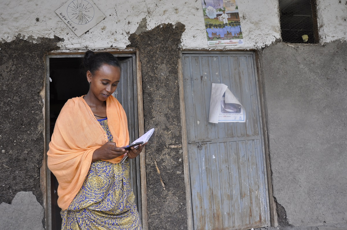 Mobile Application Supported Maternal Health Services in Rural Ethiopia