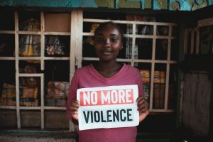 #NoMoreViolence Dare to speak up by Amref Health Africa